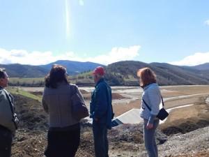 РИОСВ – Монтана провери рекултивацията на хвостохранилище за минни отпадъци
