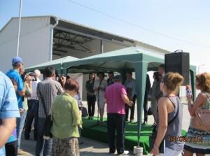Министър Василева откри депо за отпадъци във Видин